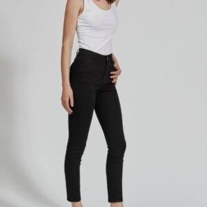 skinnie medium waist jeans
