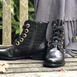 RAVEL Ladies Leather Marti Boots